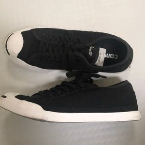 Converse Jack Purcell shoes black size 6